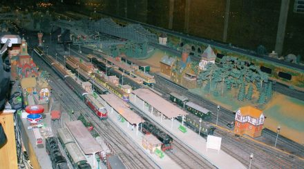 Blick über den Hauptbahnhof