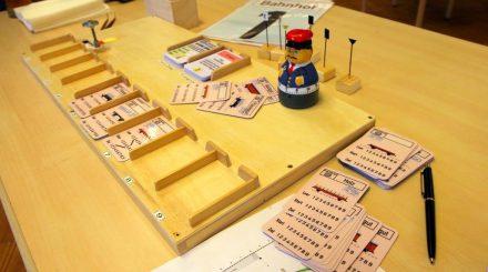 Frachtkartenspiel: Das Spielbrett