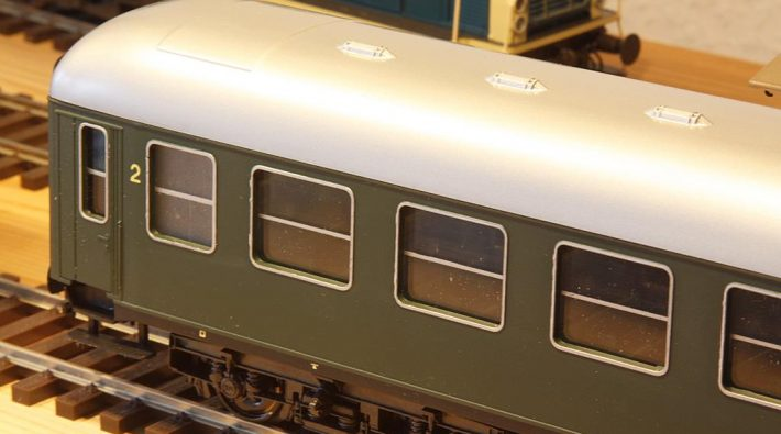 Rivarossi D-Zug Wagen vor dem Umbau