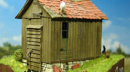 Holzhütte von Modellbau Luft