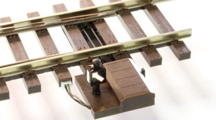 Lenz Weiche mit elektrischem Antrieb
