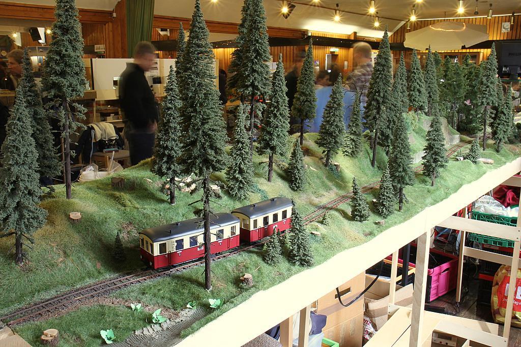 So sehen Streckenmodule der Waldbahn aus!