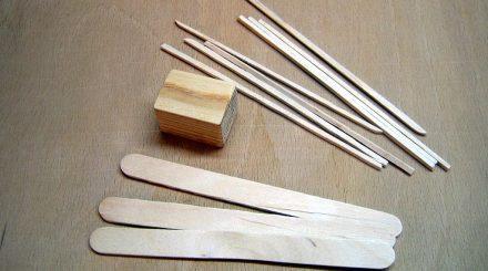 Holzkiste aus Leistchen