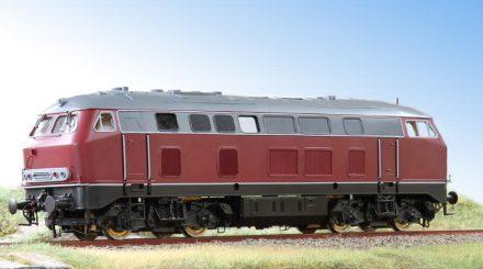Prototyp der BR 215 von Wunder