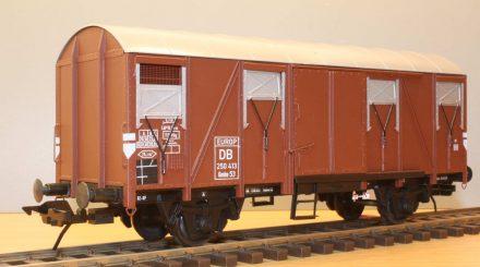 Man erkennt ihn nicht wieder: Lima-G-Wagen nach dem Umbau
