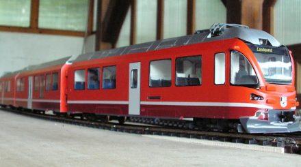 Allegra der Rhätischen Bahn von Signalmeister Modellbau