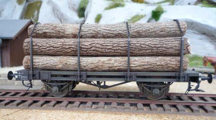 Lenz Holztransportwagen mal einzeln