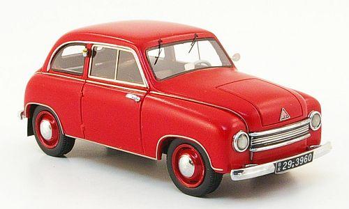 """Nicht mit der """"Sperrholz-Ausstrahlung"""", aber trotzdem schön: Lloyd LS 300 in rot."""