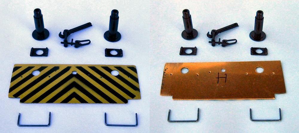 Neugestaltung der Pufferplatten