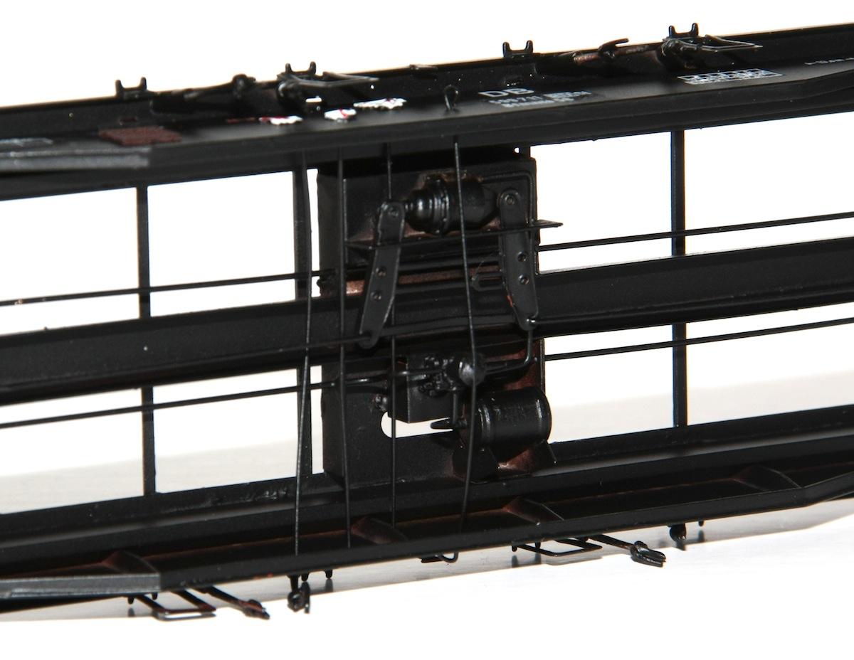 Auch die Bremsanlage hat Jürgen Moog nachgebildet
