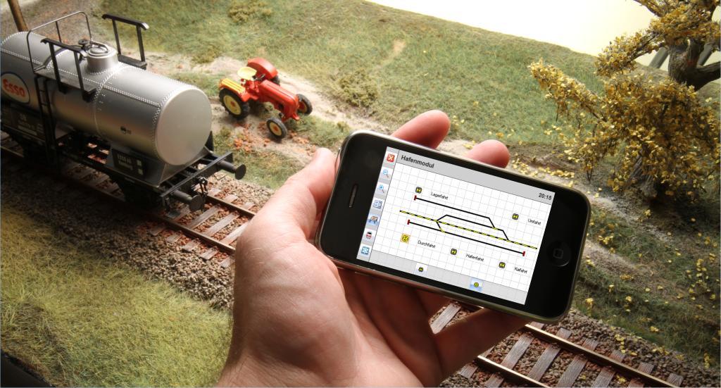 Mobile Steuerung mit dem iPhone