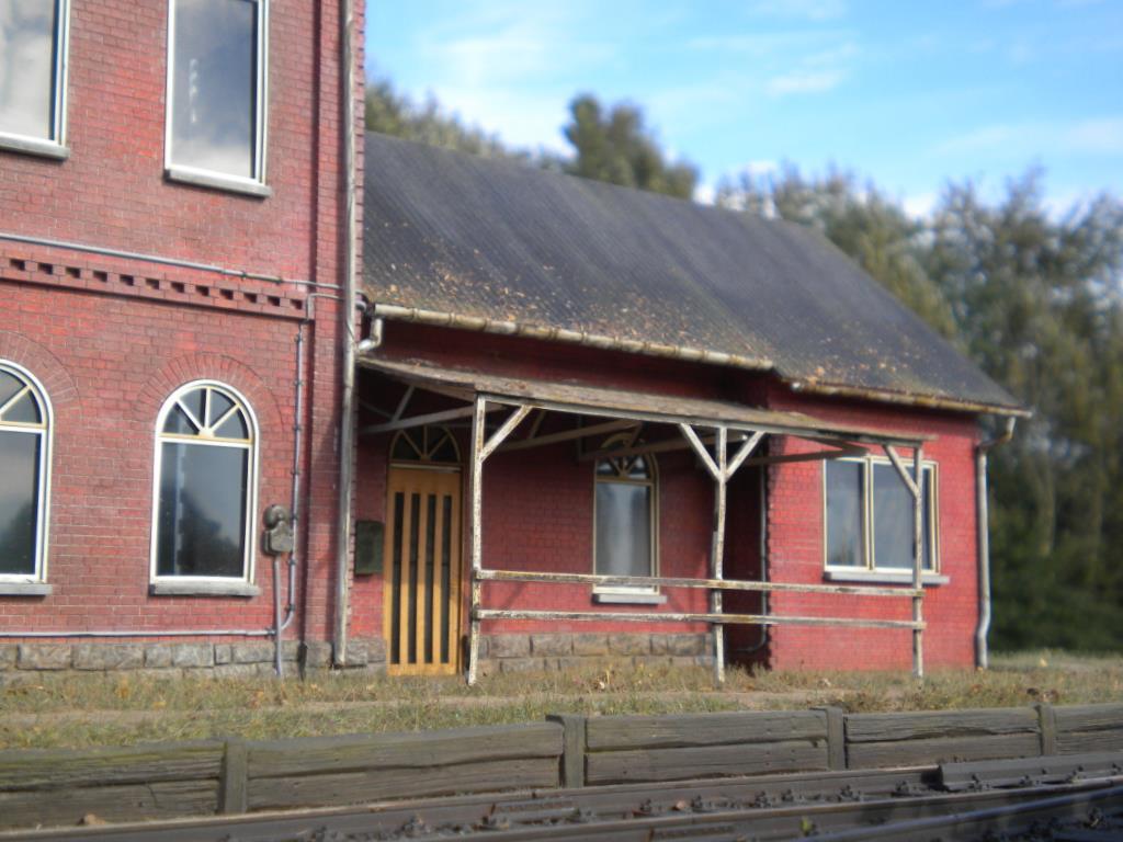 Halbrelief-Modell des Bahnhof Tecklenburg, von ASM entwickelt.