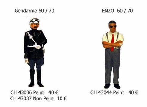 Figuren von Chrono 43