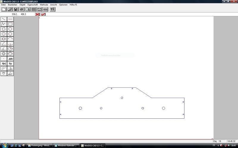 Das Wormser Modulprofil in der Zeichnung