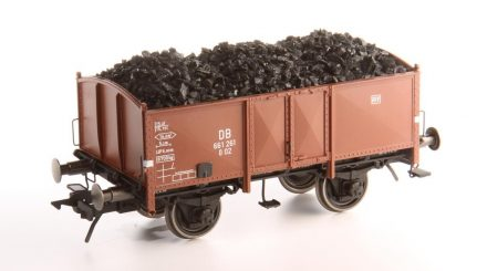 Schnellenkamp Kohlewagen mit Kurzkupplungskulisse und Lenz Kupplungshaken