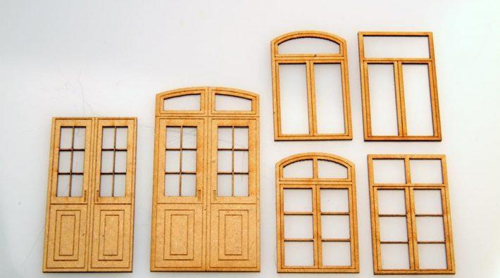 Gelaserte Fenster für Häuslebauer von Zapf