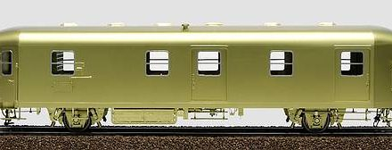 Zweiachsiger Bahnpostwagen