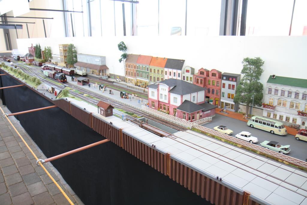 """""""Wernersbahn"""", eine Punkt-zu-Punkt Anlage mit einem Endbahnhof"""