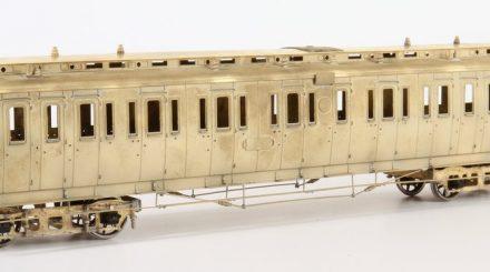 Preußischer Abteilwagen BC pr 05 mit Bremserhaus