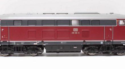 Die Lenz BR 216 130: Mal sehen, wie sie innen aussieht.