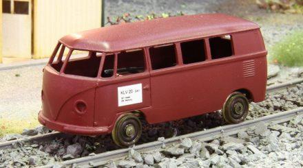 KLV 20 auf Basis des VW Bulli mit neu entwickeltem Chassis