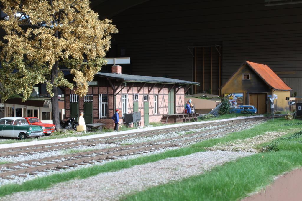 Bahnhof Schindeldorf im Einsatz in Stromberg