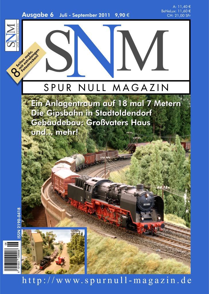 Titel Spur Null Magazin Ausgabe 6: Juli-September 2011