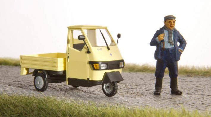 Ein kleiner Transporter für Stadt und Land: Die Piaggio Ape 50
