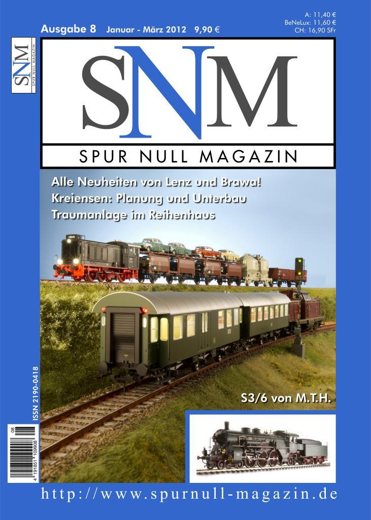 Spur Null Magazin, Ausgabe 8, Januar bis März 2012