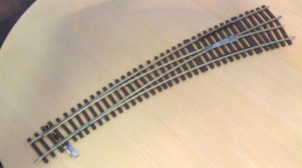 Prototyp der neuen Bogenweiche