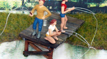 Drei neue Angler Figuren von Paulo