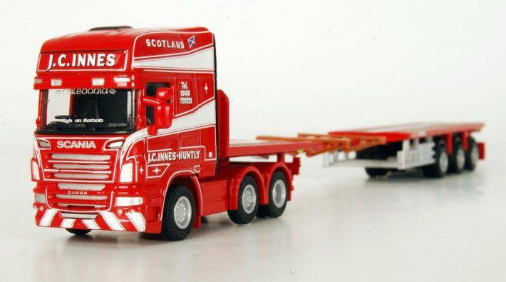 Scania Sattelzug von WSI Models
