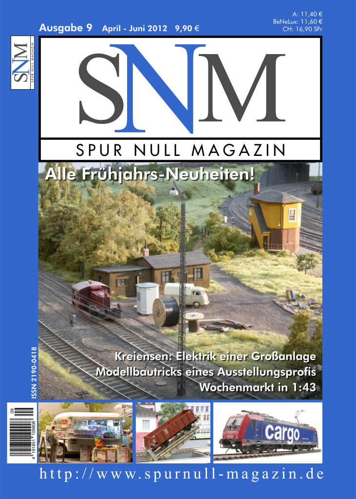 Spur Null Magazin Titelbild Ausgabe 9