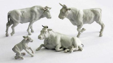 Hochdetaillierte Rindviecher von Model Art Rosdorf