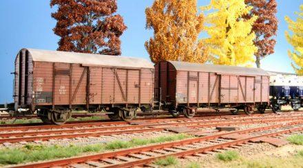 Güterwagen Alterung mit Pulverfarben: Einfach zu lernen und ohne Risiko.