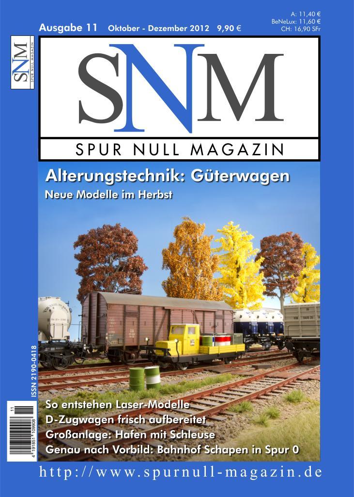 Titelbild Spur Null Magazin Ausgabe 11
