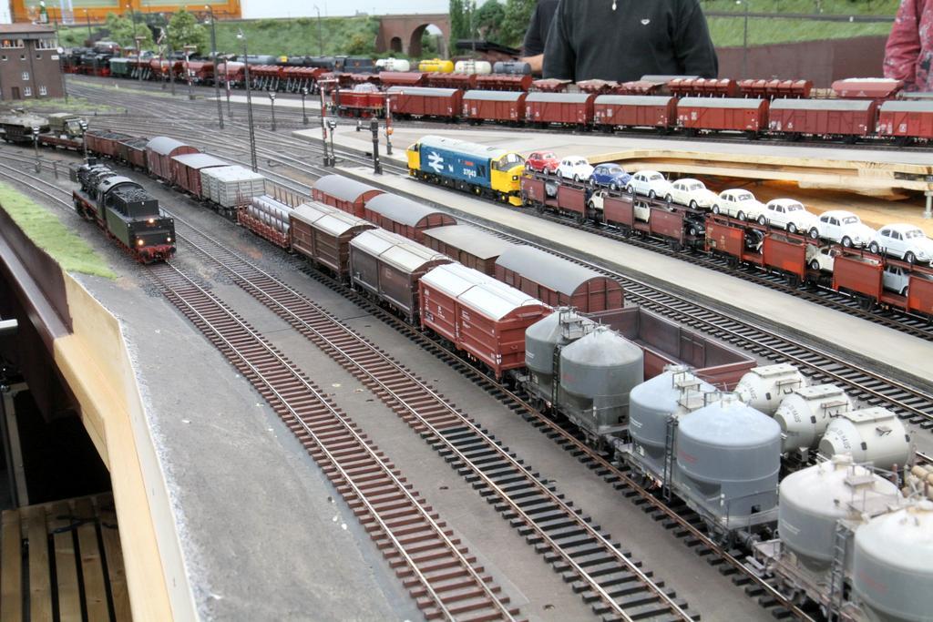 Lange Züge in Kreiensen
