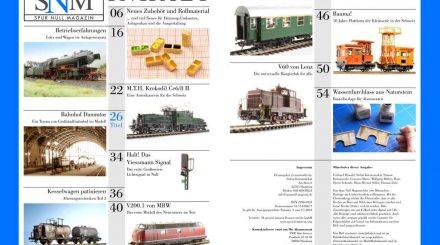 Inhaltsverzeichnis aller bisherigen Ausgaben als PDF