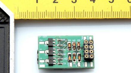 Lichtbaustein für 1,5 V Mikrobirnchen
