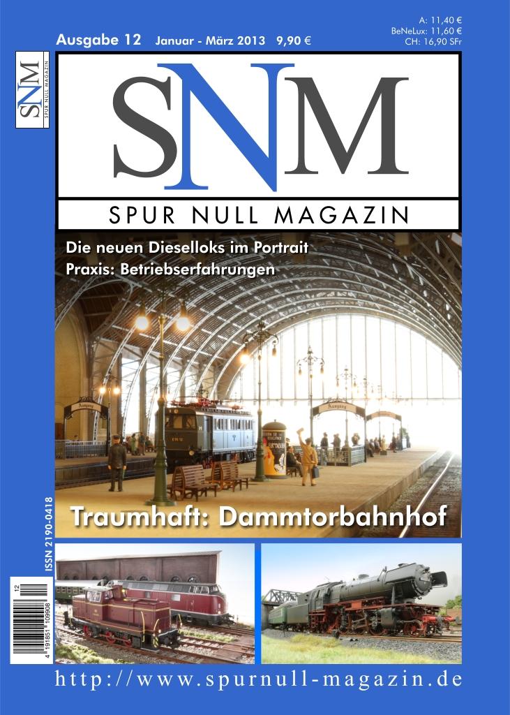 Titelbild Spur Null Magazin Ausgabe 12