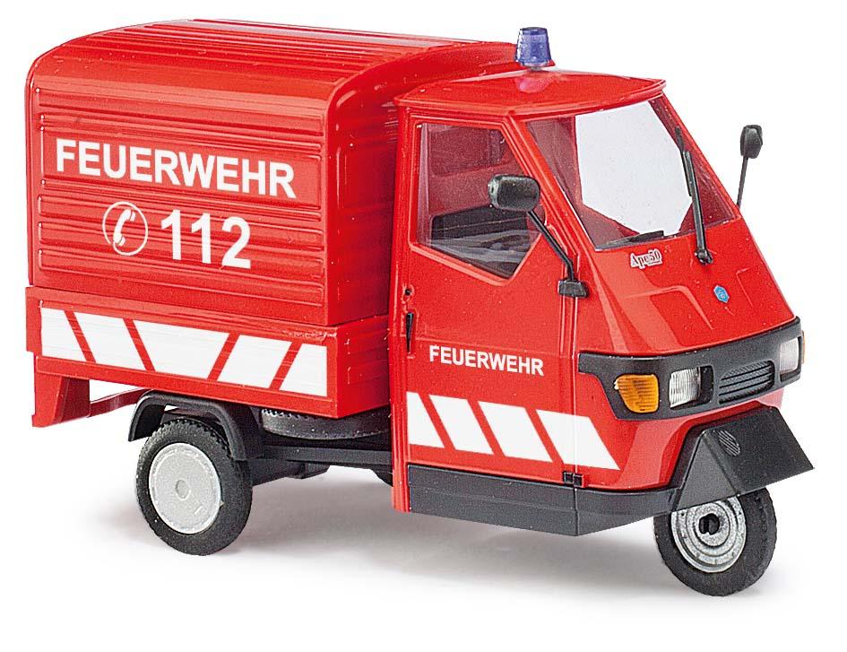 Wenns brennt, kommt die Feuerwehr auch auf drei Rädern.