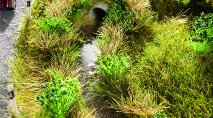 Noch Begrasungsmaterial für eine abwechslungsreiche Landschaftsgestaltung