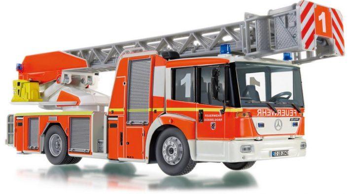 Wiking Feuerwehr - Metz DL 32 (MB Econic) in 1:43