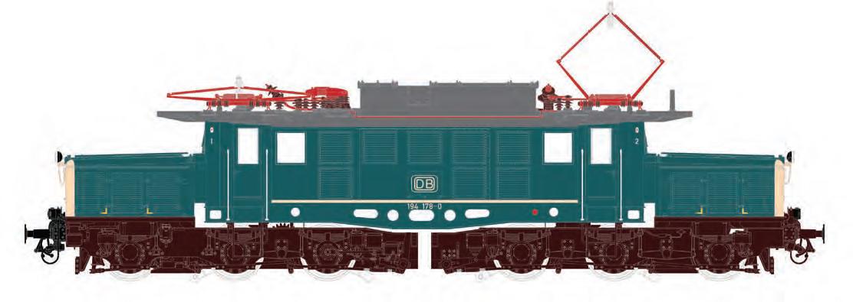 Eine erste Zeichnung der E 94