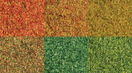 Heki Blattlaub in herbstlichen Farben