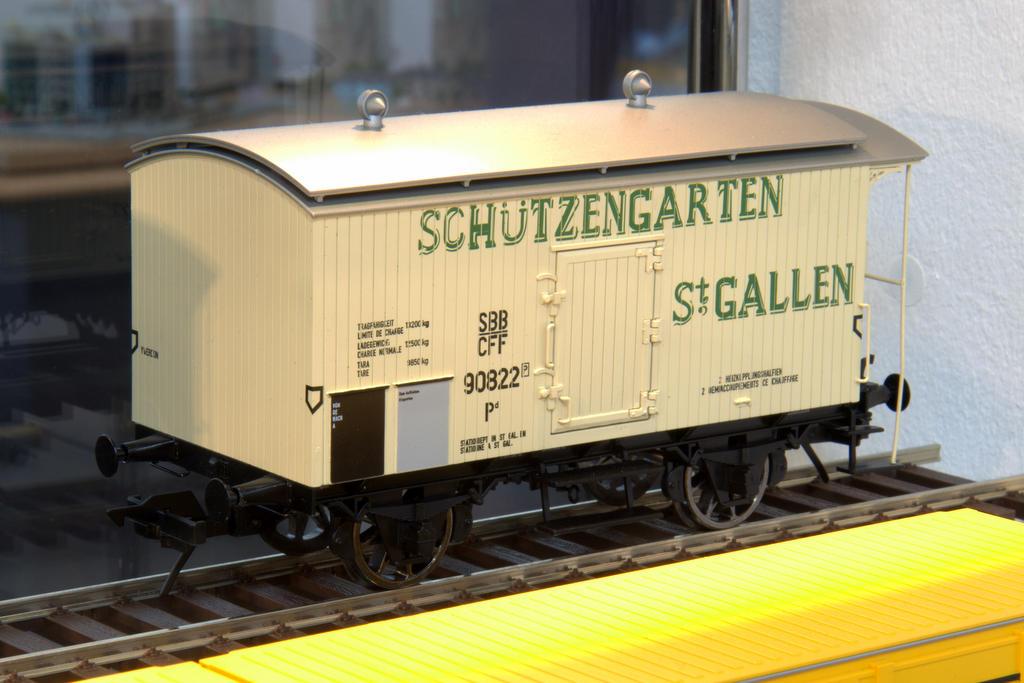 Bier her: Schützengarten St. Gallen