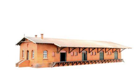 Stangel Güterschuppen