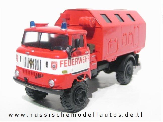 Ifa W50 Feuerwehr mit Kofferaufbau