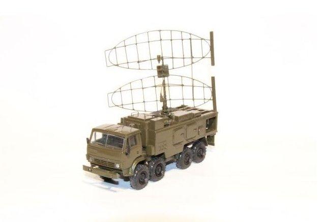 Kamaz 8x8 mit Radaraufbau