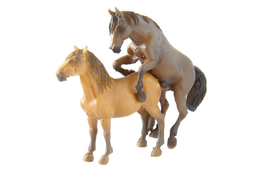 Pferde, Telegrafenmasten von Model Art Rosdorf - Spur Null